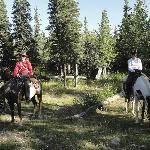 Horseback riding tour in Denali with Ivana
