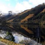 Loch Eck just up the road from Hunters Quay