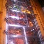 vleesbuffet bij Amigo's