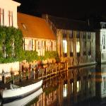 Brugge at night (The Pand is two seconds from this view)