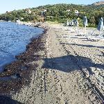 spiaggia al 5 giorno dopo è stata pulita