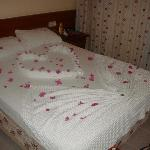 Bedroom, decorated by the lovely maids