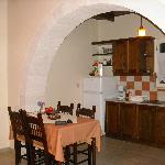 Charming kitchen in our charming cottage
