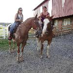 That's me on the right riding Remington, love that horse!