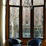 Sitting room view to la Rambla