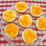 Homemade Mouthwatering Mandarin Orange Cheesecakes