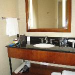 Clean lines - modern bathroom sink