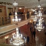 Upper floors lobby