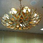 Meeting room chandelier