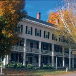 Fall foliage, the Grafton Inn, Vermont