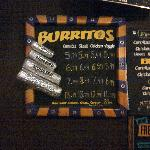 Size of Burritos are awesome