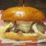 KKatie's Brie on Brioche Burger