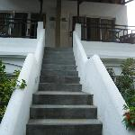 Vue accès chambre