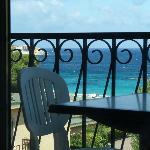 photo balcon de la chambre 8