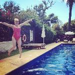 Pool diving!