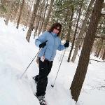 We offer 10 k of snowshoe trails at Grafton Ponds Outdoor Center