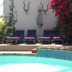 The pool at The Blackheath Lodge
