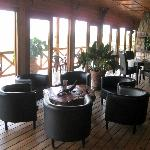 Lounge bij restaurant