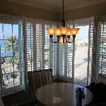Dining area in the Ocean Vista Suite.