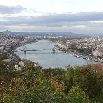 The city from Gellert Hill
