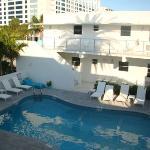 The Pool at The Aqua Hotel