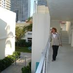 Our friendly manager Maggie - The Aqua Hotel