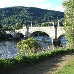 Aberfeldy - the historic Tay River bridge