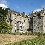 Castle Menzies near Aberfeldy