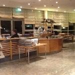 lobby, restaurant