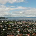 Aussicht auf die Stadt Trondheim
