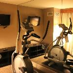 Our exercise room