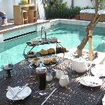 Afternoon Tea at the Pool