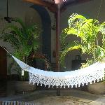 Siesta time - hammock at the pool area