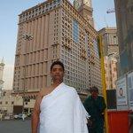 In Front of Darul Tawhid hotel Makkah