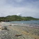 Secluded beach/conservation area of Pinel