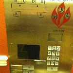 Key in your destination floor to request elevator