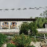 The Villa set up on the hillside
