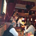 janta na Taverne de Cluny, Paris