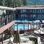 View of outdoor pool