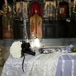 Kirche, Brautstrauß, usw...
