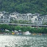 Hotel from the Li River