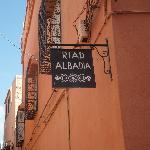 Riad sign