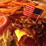 Americas Cup Bison Burger