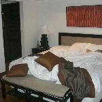 二階のベッド