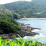 paisaje desde el mirante, praia do Forno al fondo