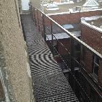 """""""balcon pour relaxer vue sur MTL"""""""