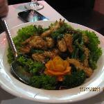 Stir Fried Squid with Black Pepper
