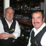 The friendly waiters
