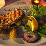 Sumptuous Salmon Steak