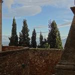 view on Val d'Orcia